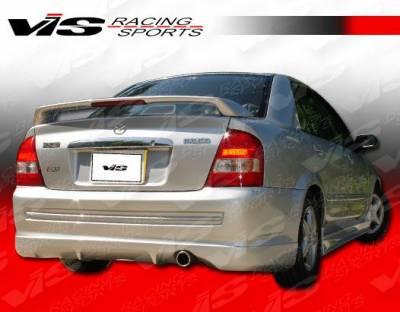 Protege - Rear Bumper - VIS Racing - Mazda Protege VIS Racing Techno R Rear Bumper - 01MZ3234DTNR-002
