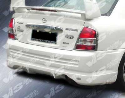 Protege - Rear Bumper - VIS Racing - Mazda Protege VIS Racing Techno R-2 Rear Lip - 01MZ3234DTNR-012