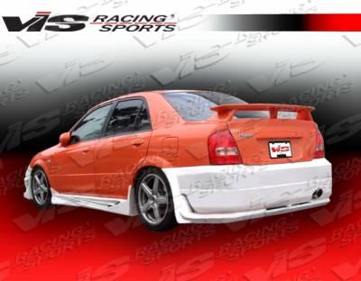 Protege - Rear Bumper - VIS Racing - Mazda Protege VIS Racing Tranz Rear Bumper - 01MZ3234DTZ-002