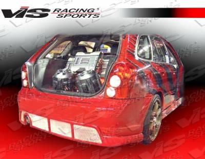 Protege - Rear Bumper - VIS Racing - Mazda Protege VIS Racing Spike Rear Lip - 01MZ3235DSPK-012