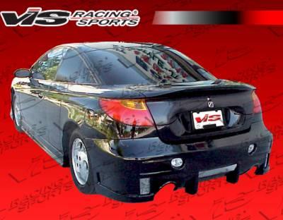 SC Coupe - Rear Bumper - VIS Racing - Saturn SC Coupe VIS Racing EVO-4 Rear Bumper - 01SASC22DEVO4-002