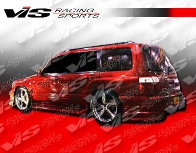 Forester - Rear Bumper - VIS Racing - Subaru Forester VIS Racing Tracer Rear Bumper - 01SBFOR4DTRA-002