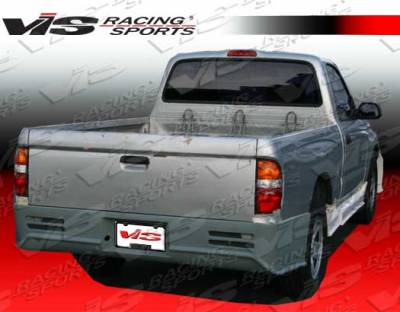 Tacoma - Rear Bumper - VIS Racing - Toyota Tacoma VIS Racing Outlaw-1 Rear Bumper - 01TYTAC2DOL-002