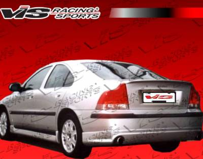 S60 - Rear Bumper - VIS Racing - Volvo S60 VIS Racing Euro Tech Rear Lip - 01VVS604DET-012