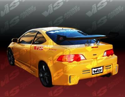 RSX - Rear Bumper - VIS Racing - Acura RSX VIS Racing GT Bomber Rear Bumper - 02ACRSX2DGB-002