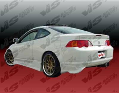 RSX - Rear Bumper - VIS Racing. - Acura RSX VIS Racing TPG Rear Bumper - 02ACRSX2DTPG-002