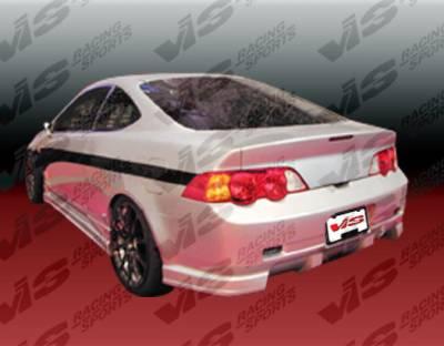 RSX - Rear Bumper - VIS Racing - Acura RSX VIS Racing Tracer Rear Bumper - 02ACRSX2DTRA-002