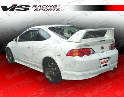 RSX - Rear Bumper - VIS Racing - Acura RSX VIS Racing Type R Rear Lip - 02ACRSX2DTYR-012