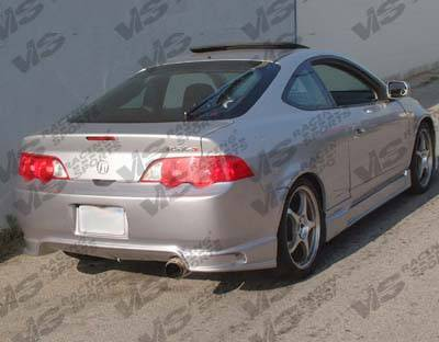 RSX - Rear Bumper - VIS Racing - Acura RSX VIS Racing Wings Rear Bumper - 02ACRSX2DWIN-002