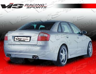 A4 - Rear Bumper - VIS Racing - Audi A4 VIS Racing A Tech Rear Lip - 02AUA44DATH-012