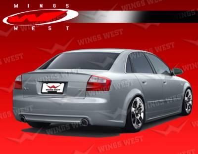 A4 - Rear Bumper - VIS Racing - Audi A4 VIS Racing JPC Rear Lip - 02AUA44DJPC-012P