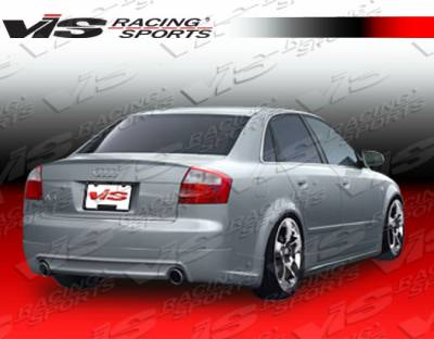 A4 - Rear Bumper - VIS Racing - Audi A4 VIS Racing J Speed Rear Lip - 02AUA44DJSP-012
