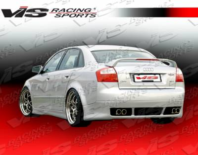 A4 - Rear Bumper - VIS Racing - Audi A4 VIS Racing R Tech Rear Lip - 02AUA44DRTH-012
