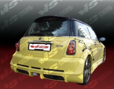 Cooper - Rear Bumper - VIS Racing - Mini Cooper VIS Racing Max Rear Bumper - 02BMMCS2DMAX-002