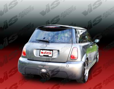 Cooper - Rear Bumper - VIS Racing - Mini Cooper VIS Racing Oracle Rear Bumper - 02BMMCS2DORA-002
