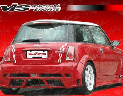 Cooper - Rear Bumper - VIS Racing - Mini Cooper VIS Racing Z Max Rear Bumper - 02BMMCS2DZMX-002