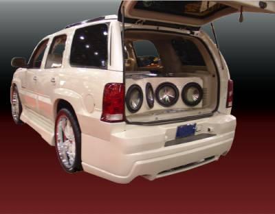 Escalade - Rear Bumper - VIS Racing - Cadillac Escalade VIS Racing Outcast-2 Rear Bumper - 02CAESC4DOC2-002