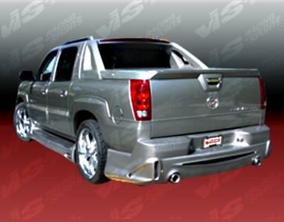 Escalade - Rear Bumper - VIS Racing - Cadillac Escalade VIS Racing Outcast Rear Bumper - 02CAESC4DXTOC-002
