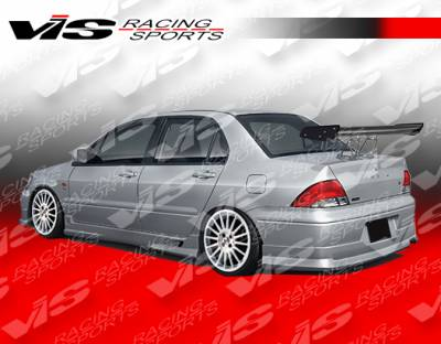 lancer rear bumper vis racing mitsubishi lancer vis racing k speed rear bumper