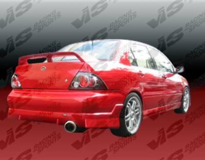 Lancer - Rear Bumper - VIS Racing - Mitsubishi Lancer VIS Racing Walker Rear Bumper - 02MTLAN4DWAL-002