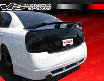 Altima - Rear Bumper - VIS Racing - Nissan Altima VIS Racing Magnum Rear Bumper - Urethane - 02NSALT4DMAG-002
