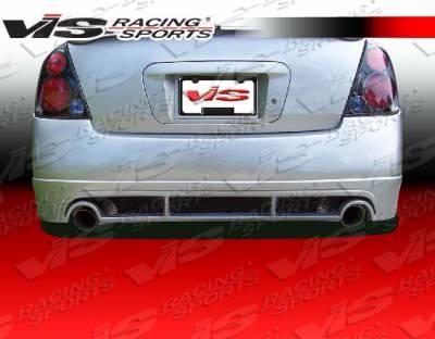 Altima - Rear Bumper - VIS Racing - Nissan Altima VIS Racing Magnum Rear Bumper - Urethane - 02NSALT4DV6MAG-002