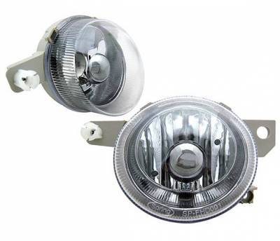 Headlights & Tail Lights - Fog Lights - 4 Car Option - Honda Del Sol 4 Car Option Fog Light Kit - Smoke - LHF-HD93SM
