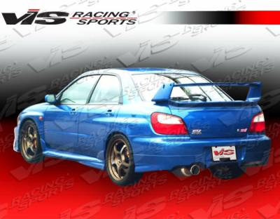 WRX - Rear Bumper - VIS Racing - Subaru WRX VIS Racing Z Sport Rear Lip - 02SBWRX4DZST-012