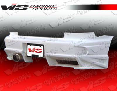 Matrix - Rear Bumper - VIS Racing - Toyota Matrix VIS Racing Ballistix Rear Bumper - 02TYMAT4DBX-002