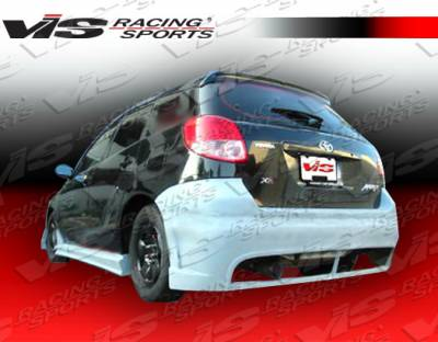 Matrix - Rear Bumper - VIS Racing - Toyota Matrix VIS Racing TSC-2 Rear Bumper - 02TYMAT4DTSC2-002