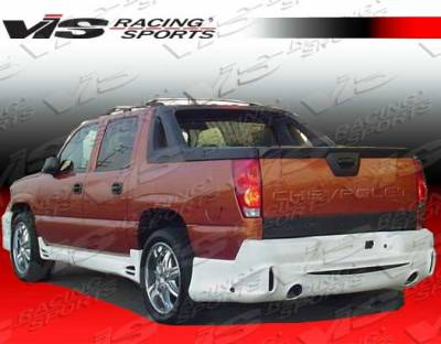 Silverado - Rear Bumper - VIS Racing - Chevrolet Silverado VIS Racing Outcast Rear Bumper - 03CHSIL2DOC-002