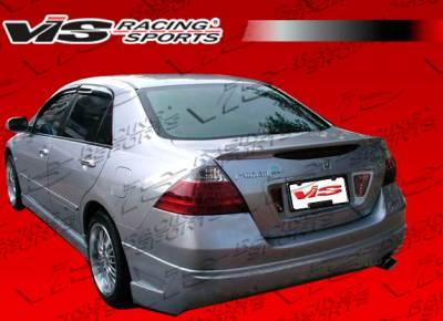 Accord 4Dr - Rear Bumper - VIS Racing - Honda Accord 4DR VIS Racing VIP Rear Bumper - 03HDACC4DVIP-002