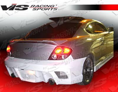 Tiburon - Rear Bumper - VIS Racing - Hyundai Tiburon VIS Racing Drifter X Rear Bumper - 03HYTIB2DDFTX-002