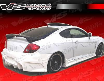 Tiburon - Rear Bumper - VIS Racing - Hyundai Tiburon VIS Racing Laser Rear Bumper - 03HYTIB2DLS-002