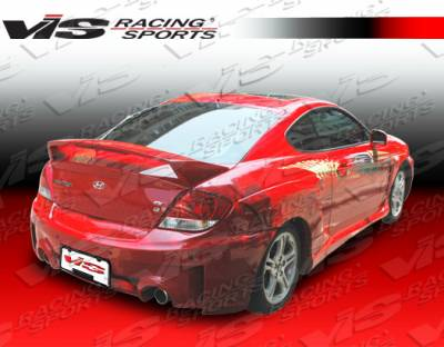 Tiburon - Rear Bumper - VIS Racing - Hyundai Tiburon VIS Racing Rally Rear Bumper - 03HYTIB2DRAL-002