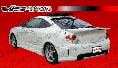 Tiburon - Rear Bumper - VIS Racing - Hyundai Tiburon VIS Racing Tornado Rear Bumper - 03HYTIB2DTND-002
