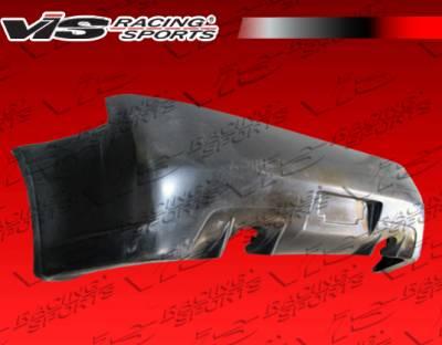 G35 2Dr - Rear Bumper - VIS Racing - Infiniti G35 2DR VIS Racing Kuruma Z Rear Bumper - 03ING352DKZ-002P