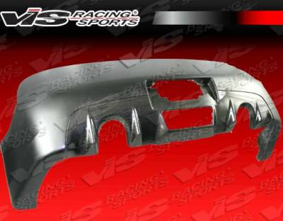 G35 2Dr - Rear Bumper - VIS Racing - Infiniti G35 2DR VIS Racing Z Speed Rear Bumper - Carbon Fiber - 03ING352DZSP-002CC