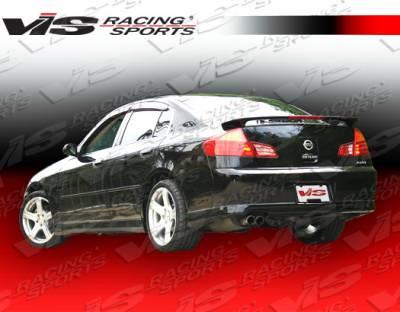 G35 4Dr - Rear Bumper - VIS Racing - Infiniti G35 4DR VIS Racing Techno R Rear Lip - 03ING354DTNR-012