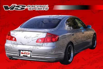 G35 4Dr - Rear Bumper - VIS Racing - Infiniti G35 4DR VIS Racing VIP Rear Lip - 03ING354DVIP-012