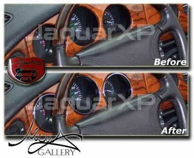 Car Interior - Interior Trim Kits - Custom - Chrome Instrument Ring Kit