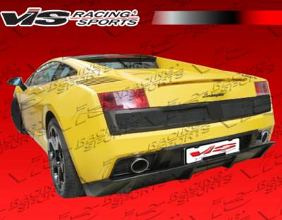 Gallardo - Rear Bumper - VIS Racing - Lamborghini Gallardo VIS Racing LP560 Style Rear Bumper - 03LBGAL2D560-002