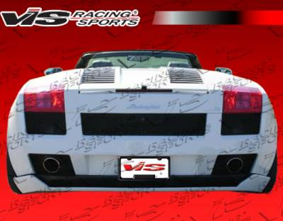 Gallardo - Rear Bumper - VIS Racing. - Lamborghini Gallardo VIS Racing VIP Rear Lip - 03LBGAL2DVIP-012