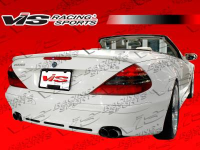 SL - Rear Bumper - VIS Racing - Mercedes-Benz SL VIS Racing B-Spec Rear Bumper - 03MER2302DBSC-002