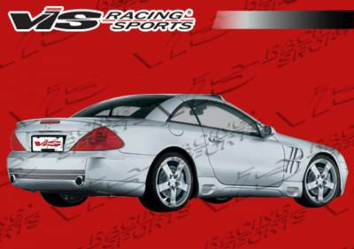 SL - Rear Bumper - VIS Racing - Mercedes-Benz SL VIS Racing Laser F1 Rear Bumper - 03MER2302DLF1-002