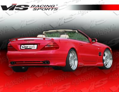SL - Rear Bumper - VIS Racing - Mercedes-Benz SL VIS Racing O Tech Rear Lip - 03MER2302DOTH-012