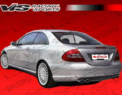 CLK - Rear Bumper - VIS Racing - Mercedes-Benz CLK VIS Racing Euro Tech Rear Bumper - 03MEW2092DET-002