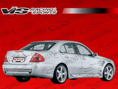 E Class - Rear Bumper - VIS Racing - Mercedes-Benz E Class VIS Racing Laser F1 Rear Bumper - 03MEW2114DLF1-002