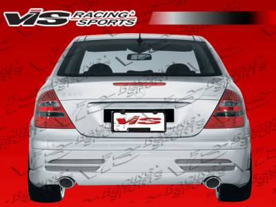 E Class - Rear Bumper - VIS Racing - Mercedes-Benz E Class VIS Racing Laser Rear Bumper - 03MEW2114DLS-002