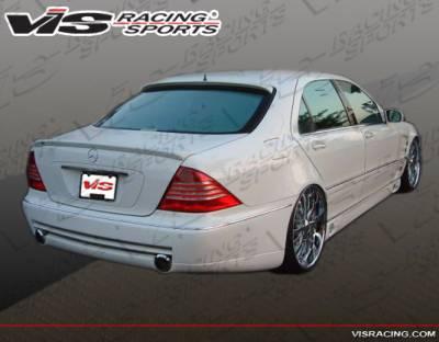 S Class - Rear Bumper - VIS Racing - Mercedes-Benz S Class VIS Racing Laser F1 Rear Bumper - 03MEW2204DLSF1-002